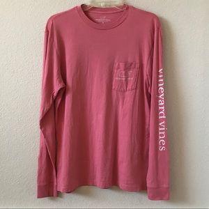 Vineyard Vines Classic Long Sleeves T-shirt Small